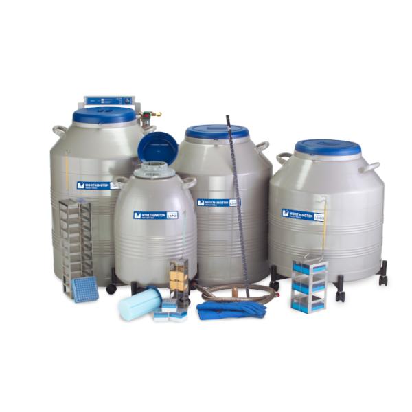 LC Series Cryogenic Vial Storage Refrigerators